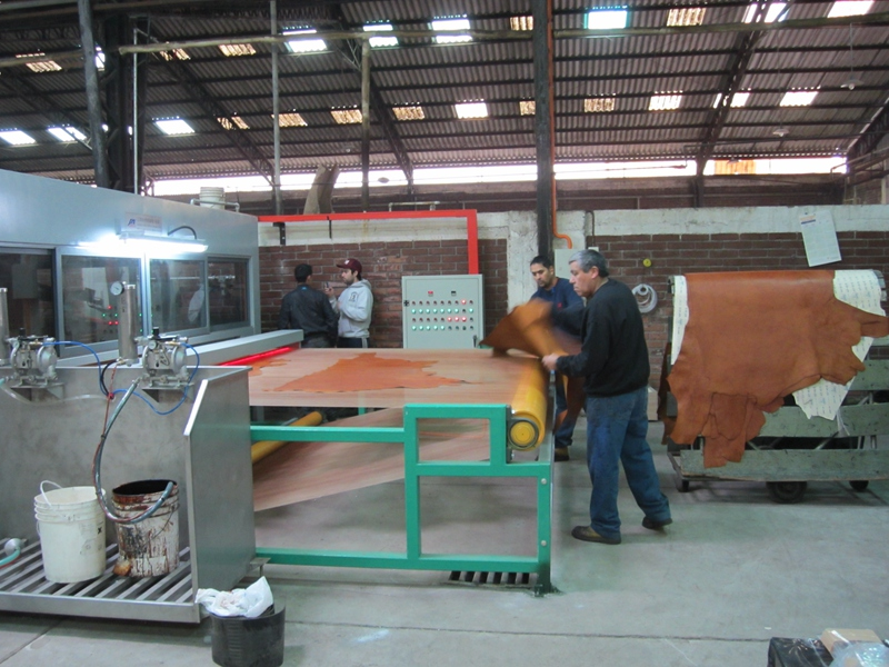 Leather Spraying Machine In Chile